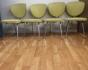 1960's Chrome Dining Chairs SOLD