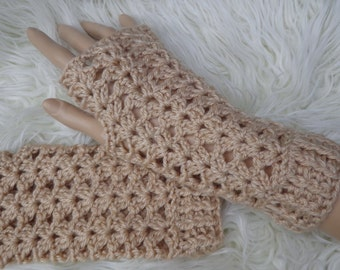 fingerless mitts texting keyboard gloves crochet warmers choose a colour