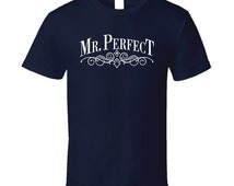 Mr Perfect Retro Wrestling T Shirt