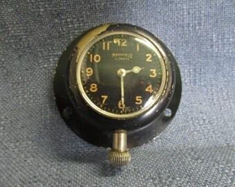 Mansfield Antique Auto Clock Glownite Works