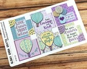MONTHLY BOXES Planner Stickers! Decorative boxes for monthly layout! Gelato Dreams Collection Inkwell Press, ECLP, Happy Planner! {#160128}