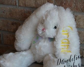 Easter bunny - easter basket filler- easter gift- bunny stuffed animal plush