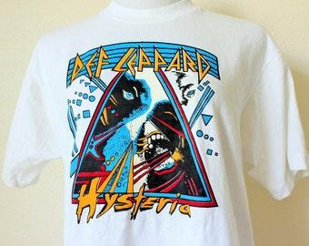 Def Leppard Hysteria-1987/Origin of Shirt-Mid 90s