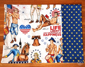 Patriotic Hunks Pillowcase