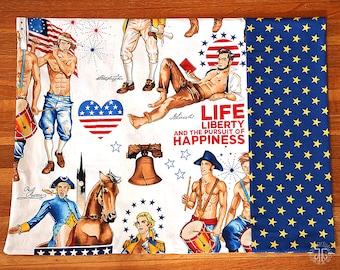 Patriotic Hunks Pillowcase