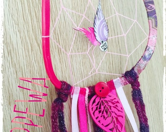 Dream-catcher (Dreamcatcher) I see life in pink