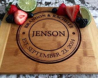 "Personalized Cutting Board - 8.5""x11"" - 12 Amazing Designs"