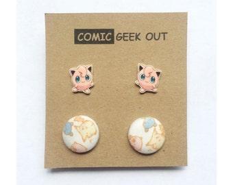 SALE Pokemon Earring Set