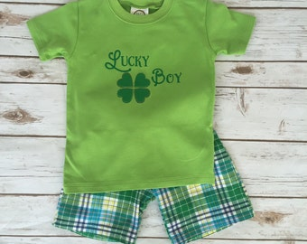 Lucky Boy Spring & St. Patrick's Day Outfit