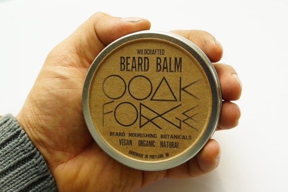 SALE OOAK Forge Wildcrafted Beard Balm / gift for him, beard oil, personal care, organic