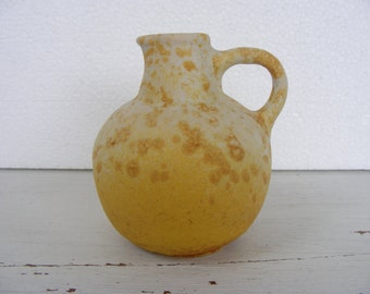 Yellow Ruscha Fat Lava vase