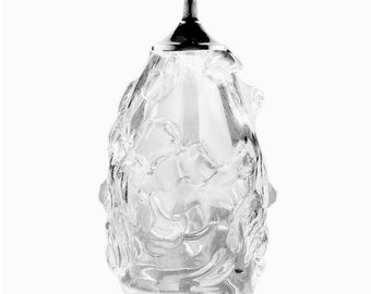 Glass Pendant Light - Riforma Crushed Ice Upcycled Glass