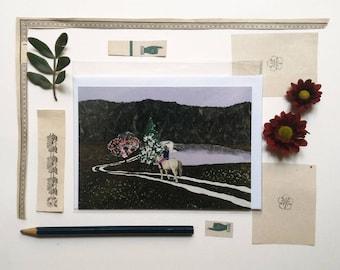 Postcard illustrated, April