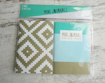 2 mini journals for big ideas