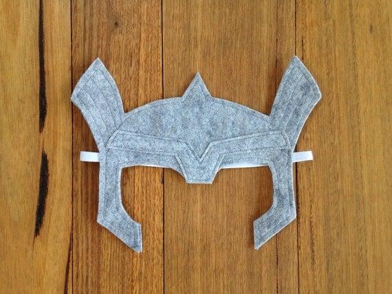 Thor Helmet Felt Dress up Mask / Costume