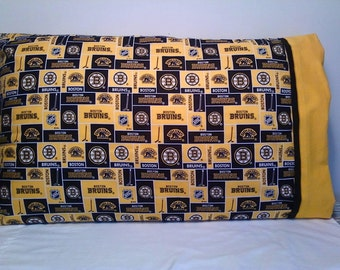 Boston Bruins pillowcase