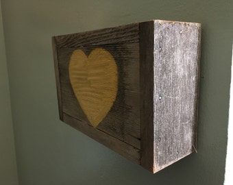 Heart doorbell wallbox cover