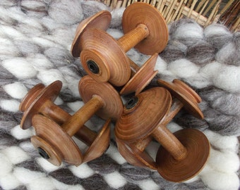 Country Craftsman spinning wheel bobbins 4 inch