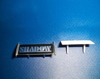 Aurora/AFX HO Slot Car Shadow Wing 1972