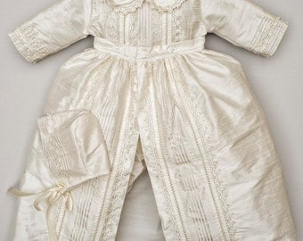 "Baby boy Christening Gown  ""B009"" (Blessing - Baptism) Ropon Espanol"