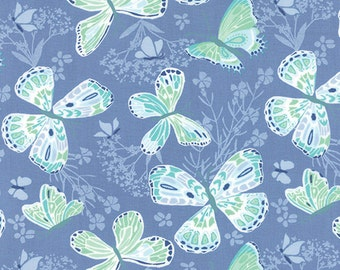 Aria Butterfly Water 27230 26 by Kate Spain Moda Fabrics
