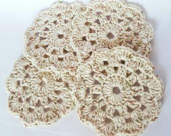 Crochet Coasters set of 4