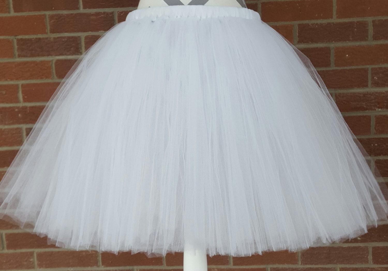 s white tulle skirt s tutu by