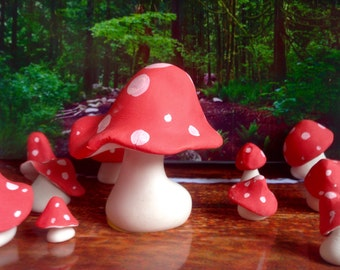 Edible Toadstools for Cakes