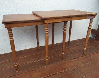 SOLD//MCM Nesting tables (2)
