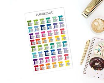 48 Kitchen Mixer Stickers - SKU #0034