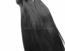 100% Unprocessed Virgin Hair Extensions/ Hair Bundles/ Hair Extensions/ Virgin Hair /Four Bundle Deals (Deluxe Straight Texture)