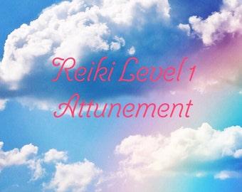 Usui Reiki Level 1 Attunement (LA area only)