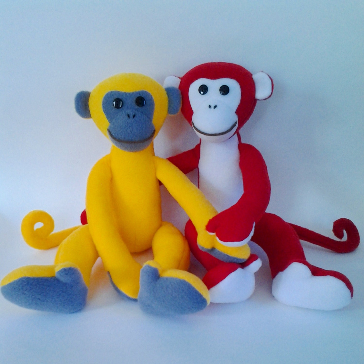 2016 Monkey Sewing Pattern Soft Toy Sewing Pattern and