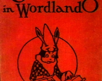 """Childrens book, """"The Chatterlings in Wordland"""" vintage book"""