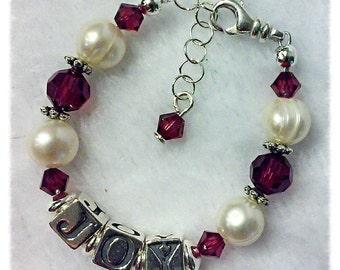 Newborn Bracelet, Infant Name Bracelet, Newborn Name Bracelet, Baby Shower Gift, Baby Shower, Birthday Gift, Baby Gift, Christmas Gift