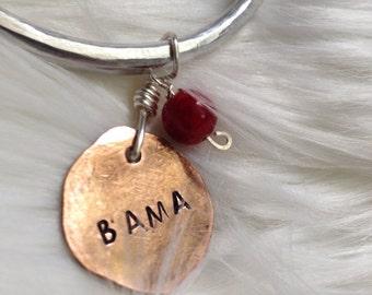 Alabama jewelry // Bama jewelry // Roll Tide jewelry // Game Day jewelry // adorned