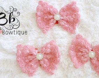 Pink Bow-tie Headband