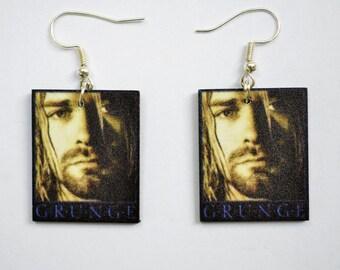 Kurt Cobain Earrings
