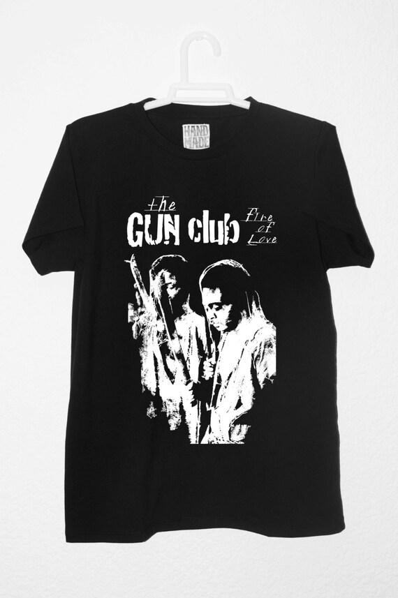 The Gun Club Fire Of Love T Shirt Top Cotton Quality By