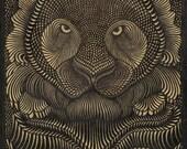 TIGRIS Painting acylic on Canvas handmade tigris painting