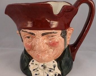 """Royal Doulton Old Charley Large Character Jug – D5420 – 5.7"""""""