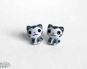 Cat Earrings, cat lover gift