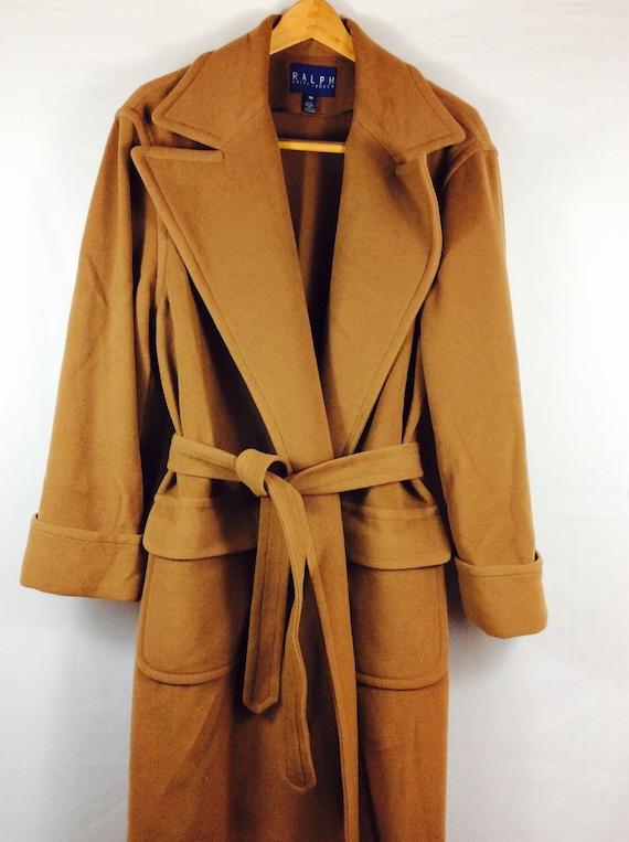 Vintage Ralph Lauren coat long wool coat by ProjectObjectVintage