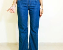 High waist jeans, FLARE JEANS, BOOTCUT jeans, western jeans, wide leg jeans, 70s style jeans, gypsy jeans, boho hippie hipster