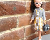 Sixties inspired shift dress and jacket for Sindy, Tammy, Barbie, Tressy doll