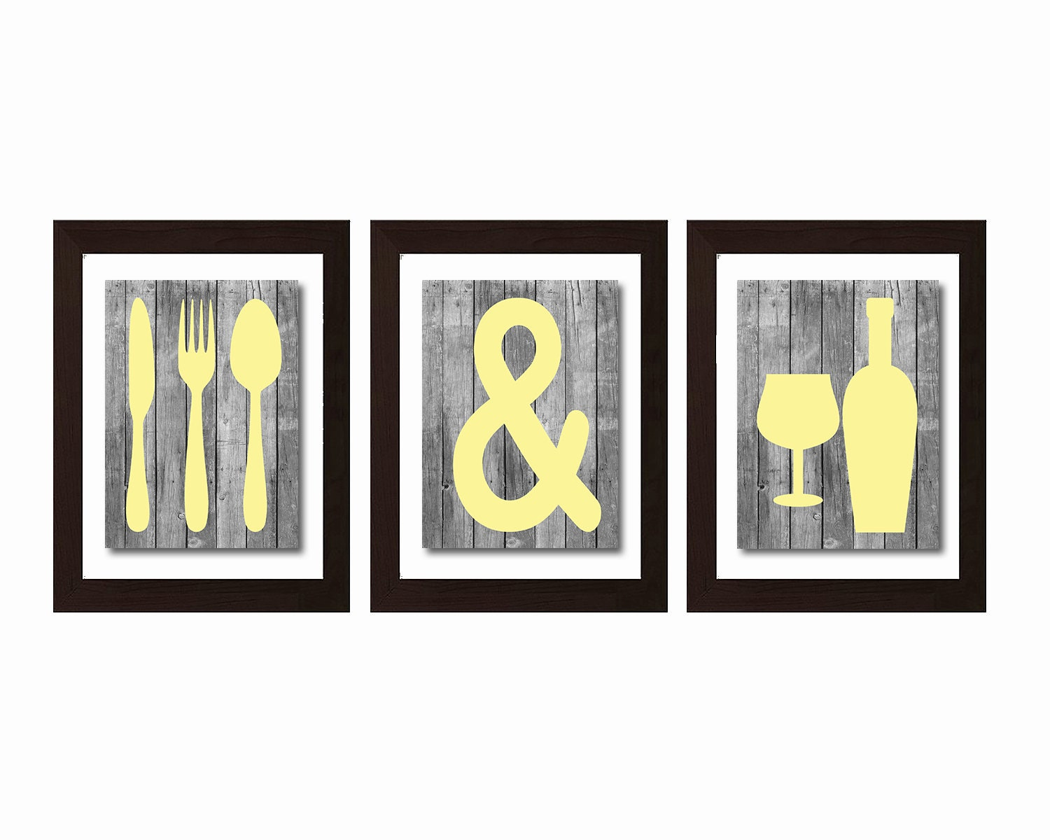 Kitchen Wall Decor Eat : Shabby chic kitchen wall art eat and drink by
