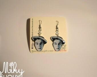Silent Film Stars Earrings