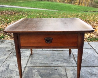 Mid Century Modern Bassett Side Table End Table Night Stand *Contact Us For  Shipping Rates