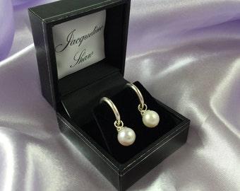 Sugar - Lovely Cultured Freshwater Pearl Earrings