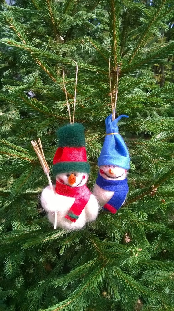 Felt Snowman Ornament, Christmas Tree Ornament, Snowman Decor, Snowman Door Hanger, Snowmen Ornaments, Snowmen Decorations, Snowmen Decor